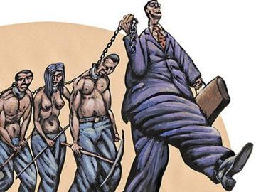 popular puesto esclavitud