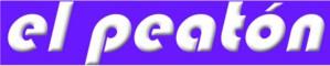 Logo peatón
