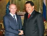 Chavez y Putin