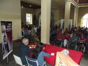 """Prof. Pavel Rondón: """"El mejor ejemplo de la ética nueva, de la ética del socialismo, es el Comandante Supremo, Hugo Chávez, así lo demostró por más de 14 años, cuando se dirigía con amor al pueblo y su visión de la humanidad, que logró recorrer el mundo""""."""