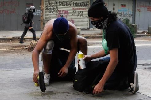 Disturbios 12-F