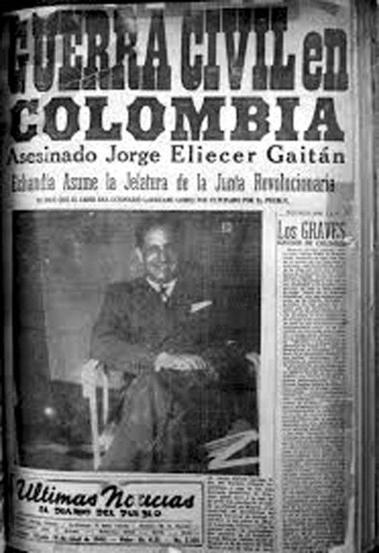 Ultimas Noticias anuncia guerra civil en Colombia