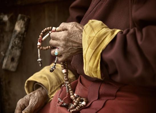 mantra-praying