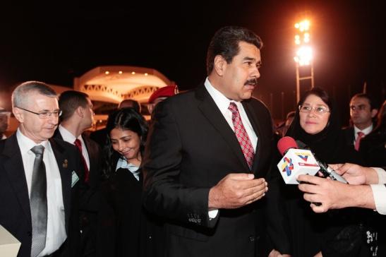 El presidente Maduro busca recuperar el precio del crudo