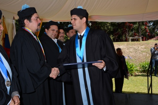 Se graduaron 42 profesionales. Foto Enrique González