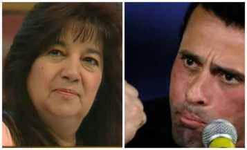 La presidenta del CLEM, Aurora Morales, mantiene un contencioso con el gobernador derechista Henrrique Capriles Radonski para que éste cumpa sus deberes constitucionales